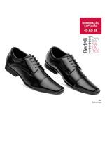 Sapato Soc Confort Amarrar Bertelli Pto Num Esp