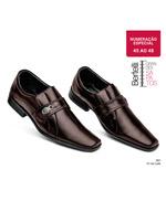 Sapato Soc Conforto Calçar Bertelli Cafe Num Esp