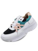 Tênis Couro Chunky Sneaker De Griffe Bc Pt Fla Agu