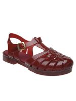 Sandalia de PVC Emborrachado D.Beja Vermelho
