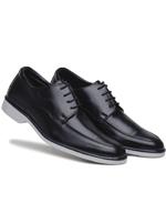 Sapato Casual Confort Solado Bcolor Amarrar Ber Pt
