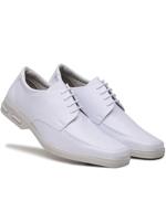 Sapato Social Conforto Amarrar Bertelli Branco
